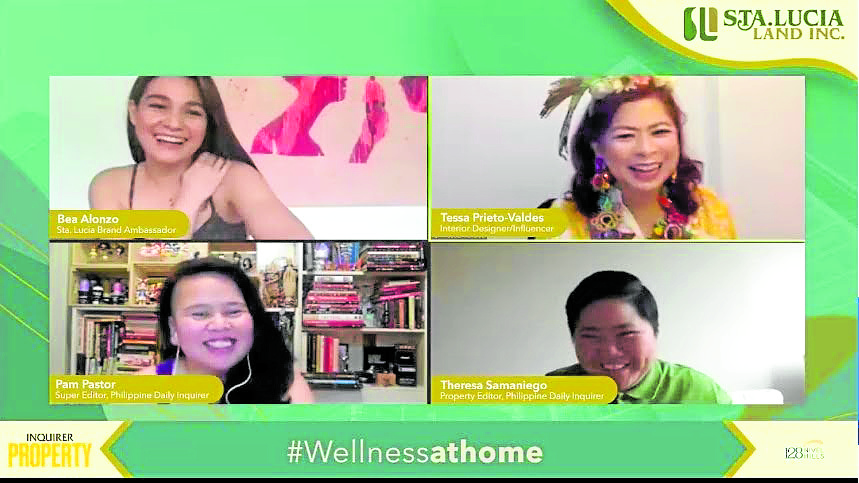 Achieving wellness in the comfort of your home with Bea Alonzo