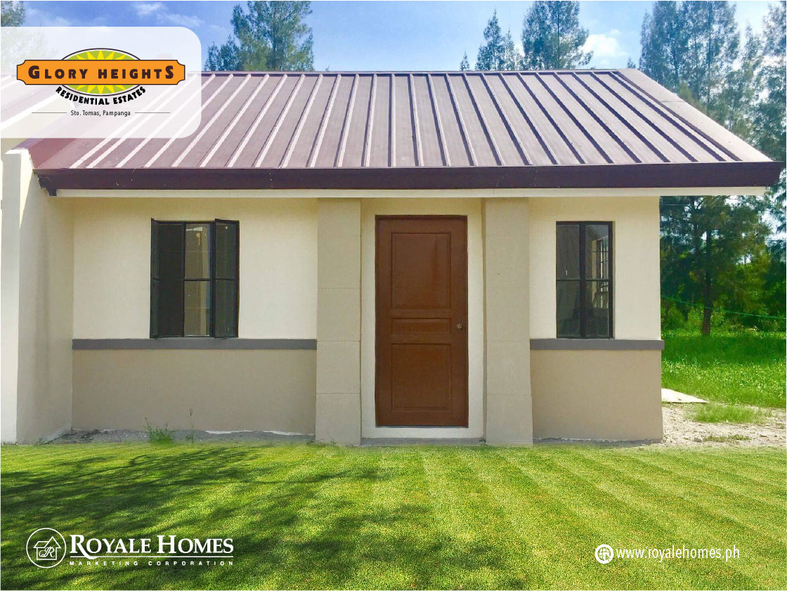 Glory Heights Residential Estates, Pampanga. Affordable House and Lot for sale. Ready for occupancy.